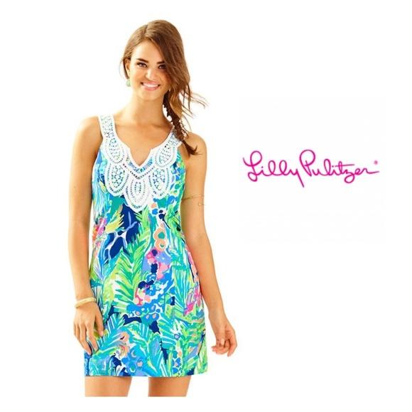 f257979fef Lilly Pulitzer Dresses   Skirts - LILLY PULITZER WOMEN S LARGO SHIFT DRESS